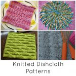 Quick Knitting Patterns 10 Quick Knitted Dishcloth Patterns