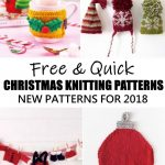 Quick Knitting Patterns Free And Quick Christmas Knitting Patterns For 2018 Knitting Bee