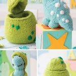 Quick Knitting Patterns Knitting Pattern For Dinosaur Hatchling Ba Dinosaur Sofite Toy