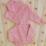 Quick Knitting Patterns Original Vintage Knitting Pattern Ba Cardigans Jackets Or Coats
