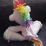 Ravelry Knitting Patterns Free Crochet Unicorn 2 With Wings Free Ravelry Pattern Home Crafts Blog