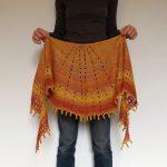 Ravelry Knitting Patterns Free Dunkelgrn Woolfibers Sunray Shawl Free Knitting Pattern