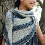 Ravelry Knitting Patterns Free Patterns Purchase Patterns Knitting Pattern Messenger Shawl