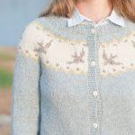Ravelry Knitting Patterns Sweaters Birdie Fair Isle Cardigan Pattern Hannah Fettig Pinterest