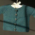 Ravelry Knitting Patterns Sweaters Garter Yoke Ba Cardi Jennifers Blog