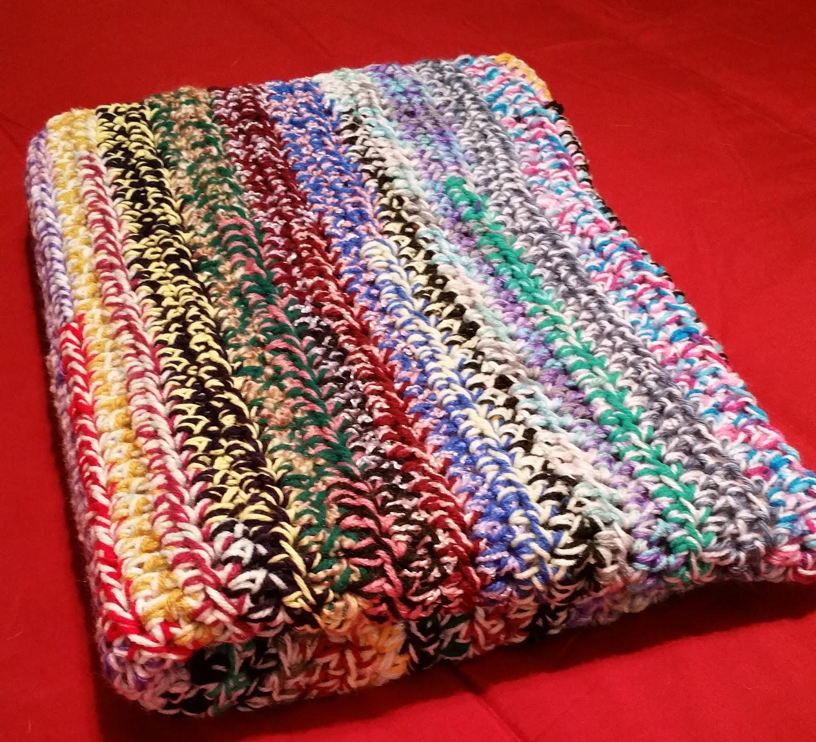 Scrapghan Crochet Free Pattern Scrap Diy Mom Scrapghan Lapghan Makes A Great Last Minute Holiday Gift