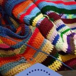 Scrapghan Crochet Free Pattern Scrap Pin Terri Brueggeman On Crocheting Pinterest Crochet Blanket