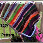 Scrapghan Crochet Free Pattern Scrap Scrap Happy Blanket Crochet Pattern Youtube
