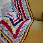 Scrapghan Crochet Free Pattern Scrap The Harris Sisters Granny Square Scrap Afghan