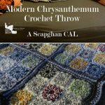 Scrapghan Crochet Free Pattern Scrap The Modern Chrysanthemum Throw Is A Free Crochet Pattern For A Throw