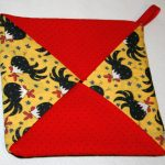 Sew Potholders Free Pattern Easy Potholder For Newbie Sewers Crafty Fun For All Sew Vac