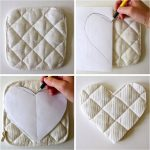 Sew Potholders Free Pattern Hotpads Attaching Bias Tape Made Everyday