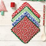 Sew Potholders Free Pattern How To Make Pot Holders Christmas Home Decorations Joann