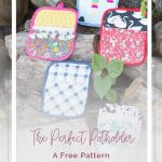 Sew Potholders Free Pattern Making Potholders With The Cricut Maker A Free Pattern Quilting