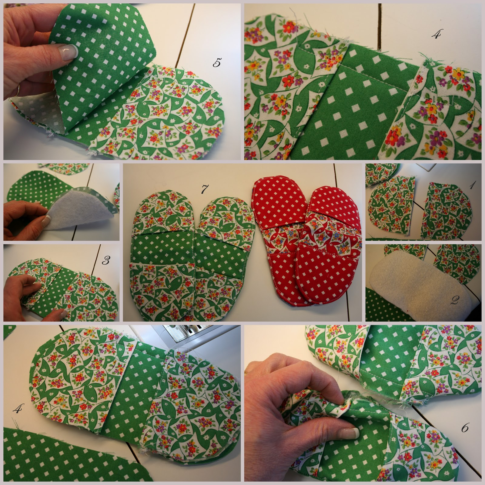 Sew Potholders Pot Holders Fintgertip Pot Holders