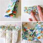 Sew Potholders Pot Holders Hotpads Attaching Bias Tape Made Everyday