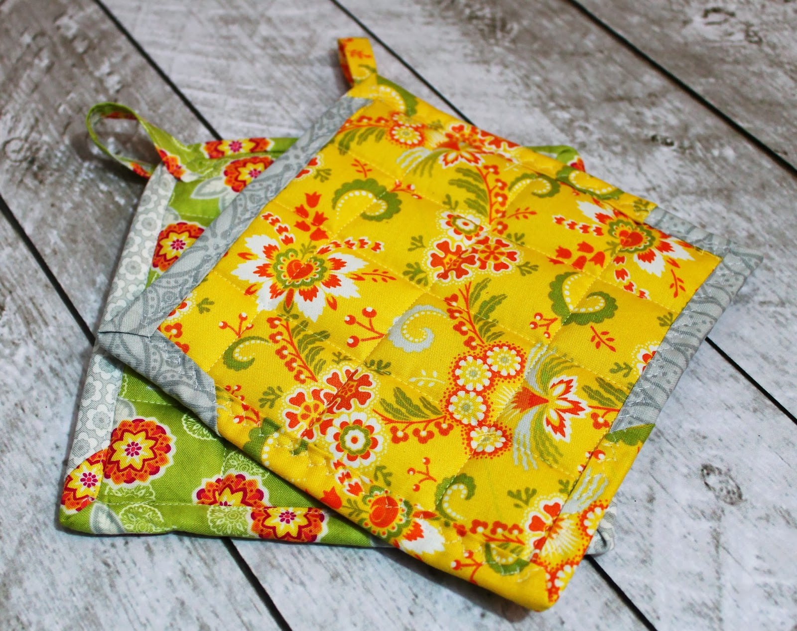 Sew Potholders Pot Holders How To Make Pot Holders The Stitching Scientist