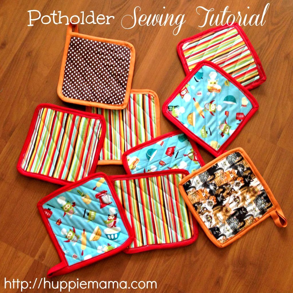 Sew Potholders Pot Holders Potholder Sewing Tutorial Sewing Pinterest Sewing Sewing