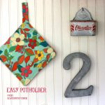 Sew Potholders Pot Holders Sewing With Kids Easy Potholder