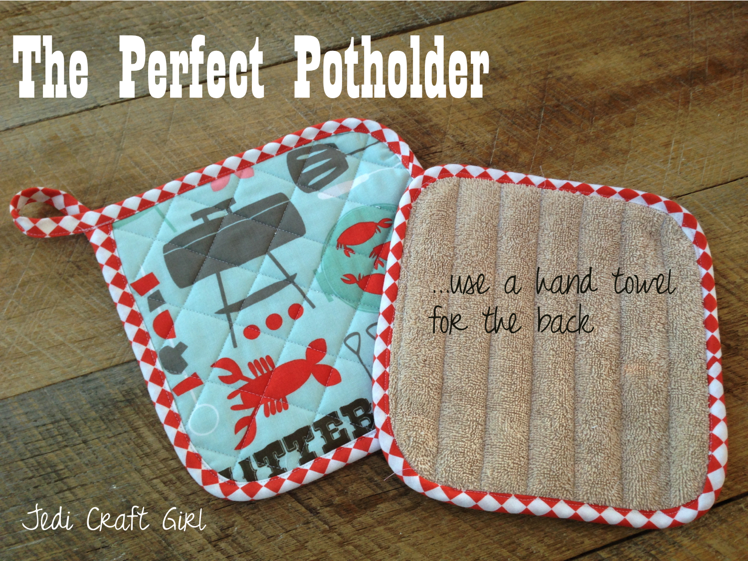 Sew Potholders Pot Holders The Perfect Potholder Fathers Day Tutorial