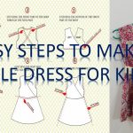 Sewing Patterns For Beginners How To Make A Simple Dress Pattern And To Sew It Step Step For