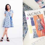 Sewing Patterns For Beginners Part 4 Final Mccalls Patterns M6959 Sew Along Wrap Dress Is