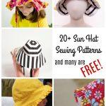Sewing Patterns For Kids Ba Kids Sun Hat Sewing Patterns 20 Sewing Patterns Made Sara