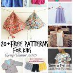 Sewing Patterns For Kids Free Sewing Patterns For Kids Springsummer 2015 Life Sew Savory