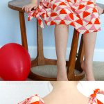 Sewing Patterns For Kids Knot Dress Free Pattern The Sewing Rabbit