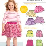 Sewing Patterns For Kids New Look 6172 Childrens Skirt