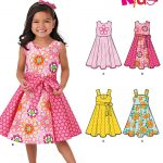 Sewing Patterns For Kids New Look 6202 Childrens Dress