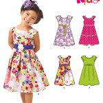 Sewing Patterns For Kids New Look 6205 Childrens Dress
