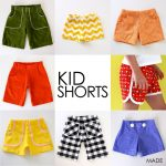 Sewing Patterns For Kids Pattern Kid Shortsages 12 Months To 10 Years Made Everyday