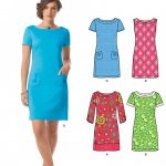 Sewing Patterns For Women New Look 6176 Womens Dress With Sleeve Variations Sewing Pattern