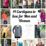 Sewing Patterns For Women Wally And Grace Designs Mens And Womens Cardigan Sewing Patterns