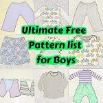 Sewing Patterns Free Free Boy Patterns Sew Boy Sewing Sewing Patterns Sewing
