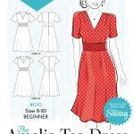 Sewing Patterns Free Free Pattern 30 Amelia Tea Dress Envelope Ol Sewing For Woman
