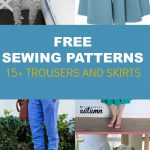 Sewing Patterns Free Free Pattern Alert 15 Pants And Skirts Sewing Tutorials On The