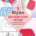 Sewing Patterns Free Free Sewing Pattern Ba Burp Cloth Pattern Ba Feeding