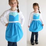 Sewing Patterns Free Free Sewing Pattern For Elsa Dress Up Apron Its Always Autumn