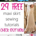 Sewing Patterns Free Maxi Skirts Free Sewing Patterns And Tutorials