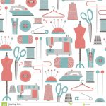 Sewing Patterns Free Sewing Pattern Stock Vector Illustration Of Accessory 31520889