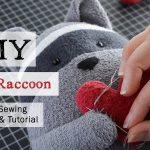 Sewing Plushies Free Pattern Diy Plush Raccoonfree Raccoon Sewing Pattern Youtube