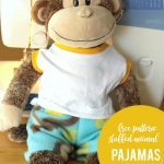 Sewing Plushies Free Pattern Easy Free Sewing Pattern For Teddy Bear Pajamas Its Always Autumn