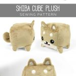 Sewing Plushies Free Pattern Free Pattern Download For This Cute Cube Plush Softie Free Easy