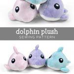 Sewing Plushies Free Pattern Free Pattern Friday Dolphin Plush Choly Knight