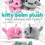 Sewing Plushies Free Pattern Free Pattern Friday Kitty Bean Plush Choly Knight