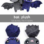 Sewing Plushies Free Pattern Free Plush Bat Pdf Pattern To Download So Cute Sewing