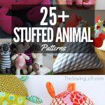 Sewing Plushies Free Pattern Stuffed Animal Patterns The Sewing Loft