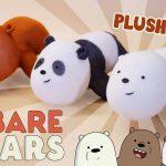 Sewing Plushies Tutorials Diy We Bare Bears Plushies Free Pattern Cute Bear Sock Plush